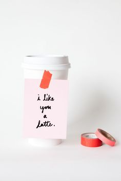 cheap and easy valentines day ideas, creative ideas for valentines day, DIY, crafts, Favorite Easy Valentine (via Oh Happy Day) Funny Valentine, Valentines Day Food, Valentine Day Crafts, Be My Valentine, Valentine Ideas, Valentine Coffee, Valentine's Day Quotes, Stencils, Heart Day