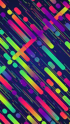 #Colorful #wallpaper Neon Wallpaper, Rainbow Wallpaper, Colorful Wallpaper, Mobile Wallpaper, Pattern Wallpaper, Wallpaper Backgrounds, Iphone Wallpaper, Pretty Wallpapers, Cellphone Wallpaper