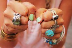 rings..