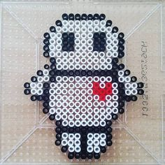 Baymax perler beads by fruitchellycup