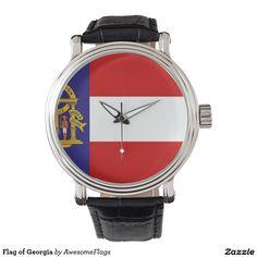 Flag of Georgia Wristwatch