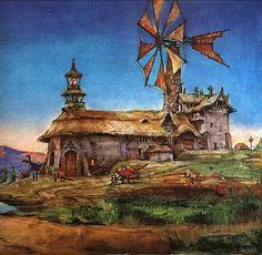 James Gurney  ~ Dinotopia