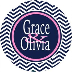 Chevron Roommates Monogrammed Dorm Sign is a great gift! Personalized to Match the colors of the dorm room.  Perfect on a dorm door!