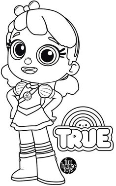 True and Bartleby from True and the Rainbow Kingdom