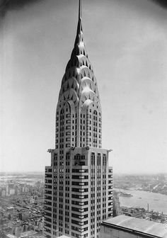 Artwork by Margaret Bourke-White, Chrysler Building, Made of Gelatin silver print Margaret Bourke White, Building Drawing, Chrysler Building, Vintage Hawaii, Find Picture, Beach Trip, Vintage Travel, Travel Posters, Empire State Building