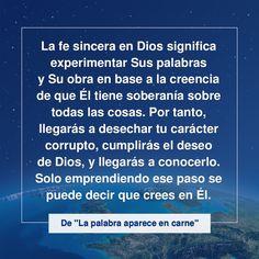 #IglesiadeDiosTodopoderoso #RelámpagoOriental #Jesús #Evangelio #Cristo #Revelación #MisteriosDelaBiblia #NombreDeDios #ElhijodelHombre  #LosÚltimosDías #ElReinoDeDios #Buscar #ElReinoDelCielo #BuenasNuevas Believe In God, Plans, Israel, Words, Quotes, Christ, Texts, Gods Love, Gods Will