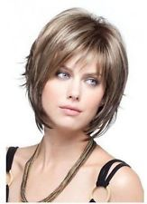 Fashion Short women lady girls Reese by Noriko Wigs Straight Hair Wigs+cap XC6