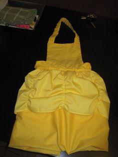 Belle Inspired Dress-Up Apron Tutorial