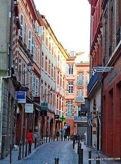 Les petites rues de Toulouse