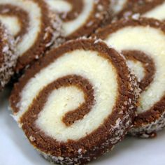 Double Chocolate Roulade Recipe from Grandmother's Kitchen