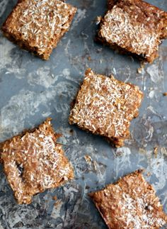 Scrumptious low carb pumpkin bars made with almond butter instead of flour. These delicious grain-free, gluten-free and dairy free bars will blow your mind.