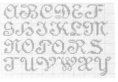 Cross Stitch Mania: Free Alphabet Cross Stitch Charts