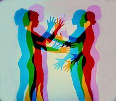 Intermediate Colors, Olafur Eliasson, Shadow Art, Arte Pop, Photomontage, Light Art, Installation Art, Wall Collage, Art Inspo