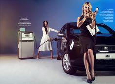 """Zwischen weiten Midi- und engen Pencilskirts, setzt auch der #SEAT Mii by #MANGO in """"Deep Schwarz"""" ein #Fashion-Statement."""