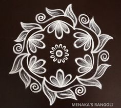 Easy Rangoli Designs Videos, Rangoli Side Designs, Easy Rangoli Designs Diwali, Basic Mehndi Designs, Rangoli Designs Latest, Simple Rangoli Designs Images, Free Hand Rangoli Design, Small Rangoli Design, Rangoli Designs With Dots