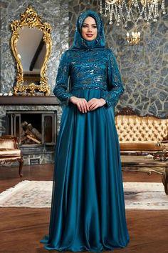 Robes Femmes Voilées De Soirée 15