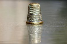 Vintage Thimbles  One German made by woodysrelics