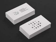 Business cards - Tkalnia  By Robert Brodziak