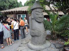 【济州岛城邑民俗村】石神像