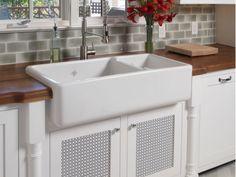 The Jamestown Kitchen Kitchen Trends, Kitchen Ideas, Kitchen Design, Kitchen Remodeling, Remodeling Ideas, Kitchen Cabinetry, Cabinets, Small Kitchen Redo, Farm Sink