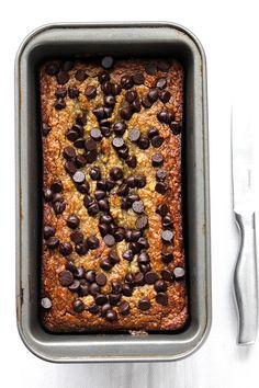 Gluten Free Banana Bread via @simplegreenmoms// #gluten #free #banana #bread #recipe #baking
