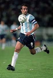 Gabriel Batistuta. Argentina.