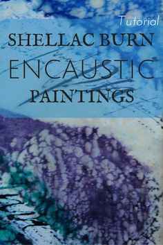 I am always looking for new art techniques, and this shellac burn for encaustic paintings is so much fun! Save this pin for a tutorial on using shellac burns in your mixed media encaustic art. http://bit.ly/1MHc2Ub
