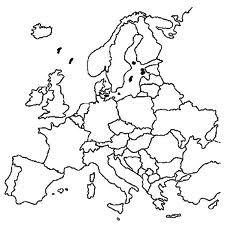 Kleurplaten Europa.Kleurplaten Kaart Europa Nvnpr