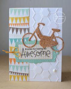 Awesome card by Savannah O'Gwynn for Paper Smooches