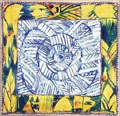 Alechinsky, Pôle I, 2013-2014, 94 x 93,5 cm