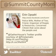 @SummitCountyMom's Twitter profile courtesy of @Pinstamatic (http://pinstamatic.com)