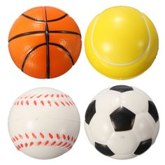 PU Hand Wrist Exercise Stress Relief Relaxation Squeeze Venting Foam Ball Baseball Tennis Basketball Football Fitness Ball #clothing,#shoes,#jewelry,#women,#men,#hats,#watches,#belts,#fashion,#style