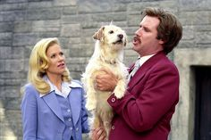 Anchorman Ron Burgundy's dog gets punted off a San Diego bridge and then miraculously returns to save his master from a bear. Best dog ever.