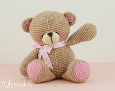 Crochet Pattern My Little Kitty by MyKrissieDolls on Etsy