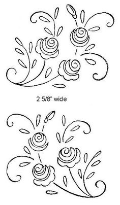 Embroidery Patterns Images near Embroidery Stitches Kinds its Embroidery Designs when Embroidery Floss Projects every Embroidery Designs Horses Embroidery Flowers Pattern, Rose Embroidery, Hand Embroidery Designs, Vintage Embroidery, Cross Stitch Embroidery, Flower Patterns, Machine Embroidery, Embroidery Tattoo, Embroidery Ideas