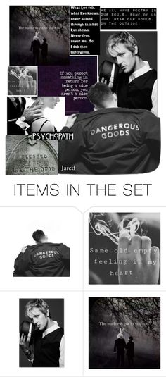 """""""It's all good, I Wanted that."""" by archfiend ❤ liked on Polyvore featuring art"""