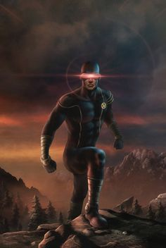 When I was younger I hated this guy. Wolverine was my comic god. Now? Wolverines a jerk and Cyclops is amazing.