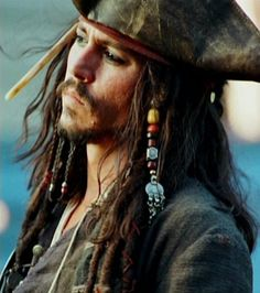 Captain Jack Sparrow, Johnny Depp, Pirates of the Caribbean