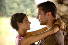 Theo James and Shailene Woodley Excited To Reunite For 'Insurgent'