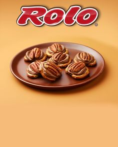 "When you put ""ROLO®"" and ""pretzel"" in the same sentence, ""delight"" isn't far behind. Get the recipe for these sweet and salty treats. Rolo Pretzels, Pretzel Treats, Snack Hacks, Caramels, Homemade Candies, Sweet And Salty, Pecans, Recipe Using, Delicious Desserts"