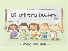 Singing Time Ideas for church. This has a list of different ideas to make singing time fun.