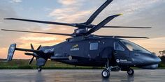 270 MPH Sikorsky S-97 Raider. Sikorsky knows how to produce a serious machine