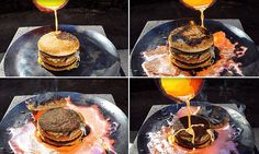 This is what happens when you pour molten copper on a Big Mac #DailyMail | These are some of the stories. See the rest @ http://twodaysnewstand.weebly.com/mail-onlinecom or Video's @ http://www.dailymail.co.uk/video/index.html