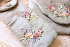 Работа студента: Токио Jiyugaoka Иноуэ Chigusa вышивки и картонажа классе Atelier Клэр (Atelier Claire)