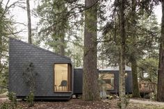 The new eco-resort of Parque de Pedras Salgadas, Portugal, consists of a set of seven small houses in perfect harmony with the surrounding outstanding nature.