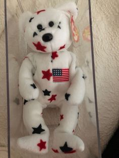 RARE Princess Diana Ty Beanie Baby Edition 1997 for sale online Beanie Bears, Ty Beanie Boos, Valuable Beanie Babies, Princess Diana, Teddy Bears, Beanies, Snowman, Red And White, Book