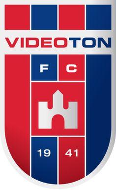Videoton of Hungary crest. Fifa, Badges, Soccer Logo, Soccer Teams, Old Logo, Professional Football, European Football, Uefa Champions League, Football Team