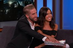 Kaitlyn Bristowe and Shawn Booth Take Bachelorette Pledge to Stay Together on 'Jimmy Kimmel'