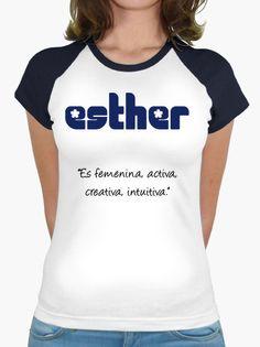 Esther T Shirt, Women, Fashion, Chemises, Feminine, Colors, Supreme T Shirt, Moda, Tee Shirt