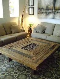 Image result for mesa de centro de madera rustica